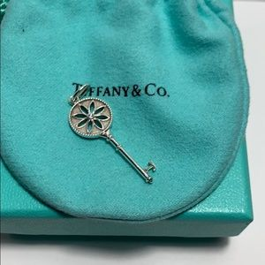 Daisy Key in Silver with a Diamond  | Tiffany & Co